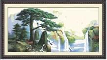 Набор вышивки крестом - Японский водопад