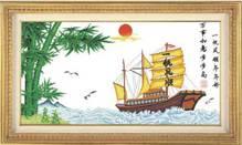 Набор вышивки крестом - Корабль