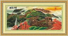Набор вышивки крестом -  Великая китайская стена