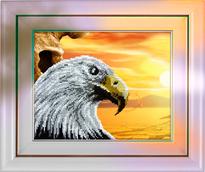 Набор вышивки бисером - Орел