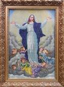 Набор вышивки бисером икона Вознесение Девы Марии
