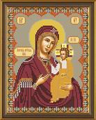 Набор вышивки бисером икона Иверская Пресвятая Богородица