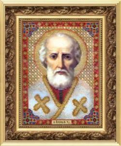 Набор вышивки бисером икона Святитель Николай Чудотворец