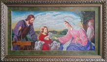 Набор вышивки бисером икона Свята Родина (тесля)
