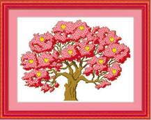 Набор вышивки крестом -  Дерево романтики