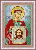 Святая Вероника - схема вышивки бисером