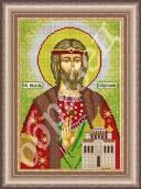Святой Владислав - схема вышивки бисером