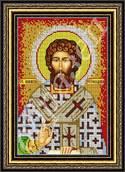 Святой Никита - схема вышивки бисером