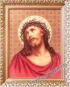 Набор вышивки бисером икона Иисус в терновом венке