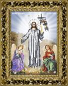 Набор вышивки бисером икона Воскресение Христово