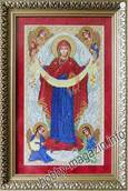 Набор вышивки бисером икона Покров Пресвятой Богородицы