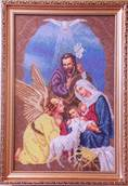 Набор вышивки бисером икона Рождество Христов
