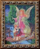 Набор вышивки бисером икона Ангел Хранитель