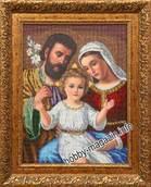 Набор вышивки бисером икона Святое Семейство
