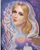 Покровительница Влюблённых - схема вышивки