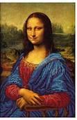 Мона Лиза - схема вышивки